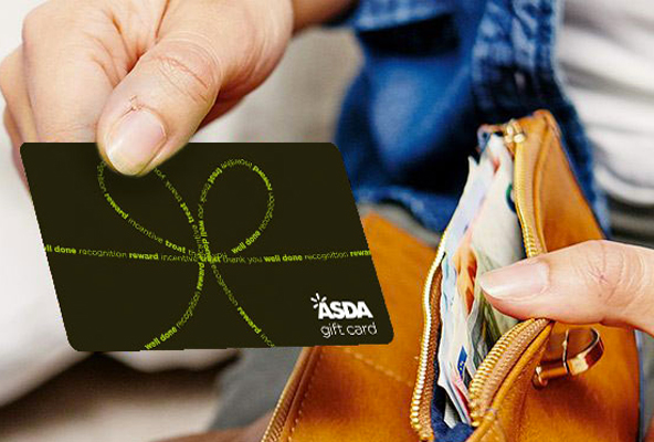 Asda Gift Card to suit you